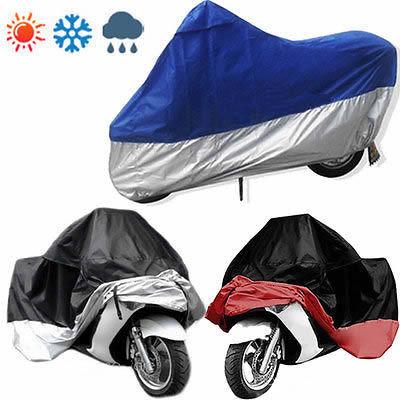 New Motorbike Motorcycle Bikes Outdoor Indoor Protect Waterproof Dustproof UV Cover(China (Mainland))