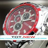 Fashion Men Watch 2014 Wristwatches Tag Brand Watch Adjustable Full Stainless Steel Strap Wrist Men Watch Free Shiping