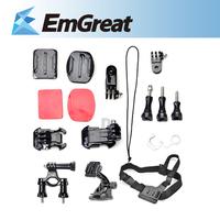 Go pro Accessories Chest Mount Harness Adjustable Chest Belt+Bicycle Handlebar Mount Out Door Set Hero 3+Hero 3+2+1 P0013131