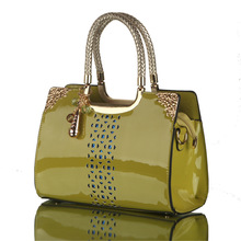 popular patent leather bag