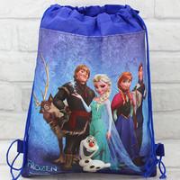 Free shipping~FROZEN \PEPPA PIG\HELLO KITTY\ Cartoon children's schoolbag Drawstring Backpack Bag Kid's School bag