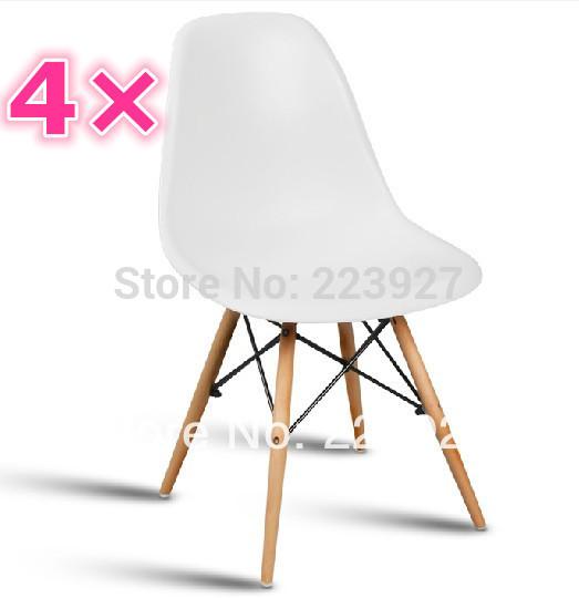 Online kopen wholesale eames eetkamer uit china eames eetkamer groothandel - Houten plastic stoel ...