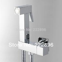 cromo de cobre de mano bidet ducha de rocío conjunto ducha bidé rociador lanos bidé inodoro pistola torneira ducha(China (Mainland))