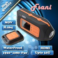 HD119 Full HD 1080P Mini Sport Action Helmet waterproof Camera DVR video Camera recorder camcorders Car camera DVR Free shipping