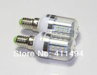 2pcs/lot New Arrival E14 6W Warm White white 3014 SMD 48LEDS Light Bulb Lamp Energy Saving 12V 24v Free Shipping A268