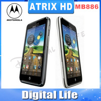 ATRIX HD MB886 Original  Motorola   MB886 3G GPS WIFI Bluetooth 4.5inches  Screen 8MP Camerea Cell Phone Refurbished
