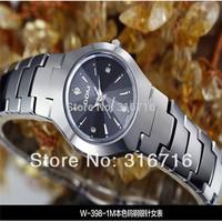 200M Dive DOM Women Dress Watches,Sapphire Full Tungsten Steel Quartz Women Rhinestone Watches,Fashion Casual Women Wristwatches
