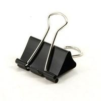 Binder clips anti-tail clip 32mm black dovetail clip purse lackadaisical boxed 9543 supplies 12pcs