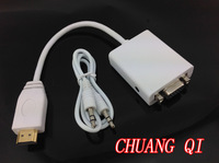 1pcs HDMI to VGA with Audio Cable HDMI to VGA Adapter Male To Female 1080p HDMI to VGA Converter For Xbox 360 PS3