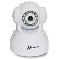 KNEWMART Mini Pan/Tilt Plug Play Night Vision Dual Audio  Motion Detection Network Wireless Wifi Webcam CCTV IP Camera