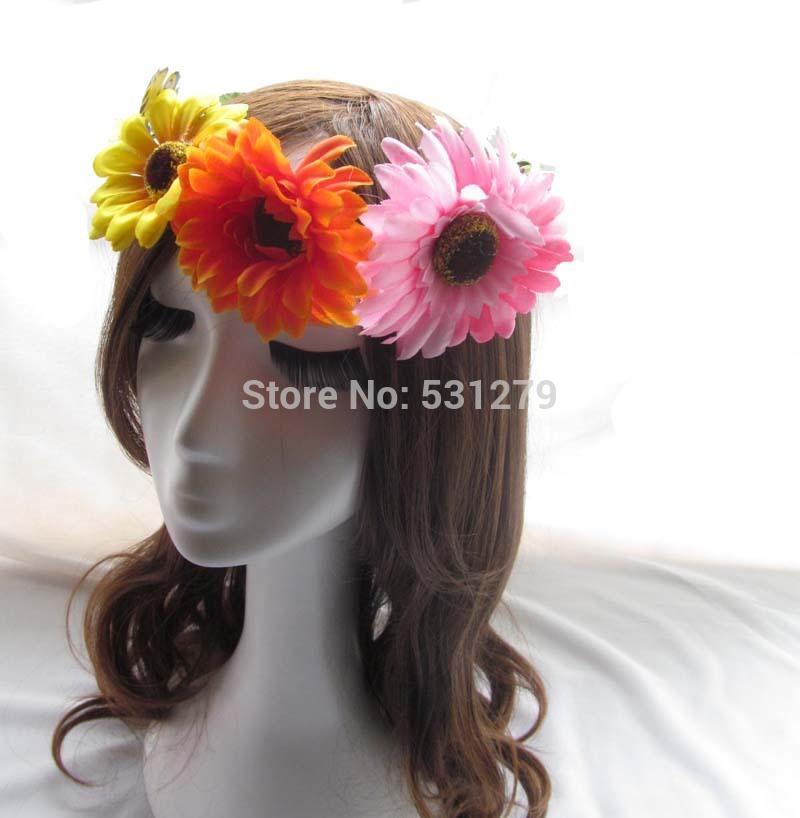 Head Wreath Name Newest Flower Girl Head Wreath
