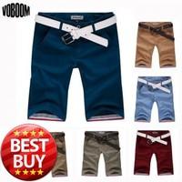 2014 Summer New Hot Sale Straight Barrel Pocket Fashion Slim Men's Casual Comfort Swimwear Shorts Men's Beach Shorts 6 Colors