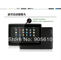 "7"" capacitive multi-touch screen tablet pc Android 4.0 512MB/4GB with Allwinner A13 Camera WIFI Black/white Free shipping"