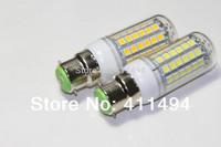 5pcs/lot 2014 new Retail  B22 69LEDs SMD 5050 15W LED corn bulb lamp Warm white white 5050SMD led lighting 220V 230V 240V A197