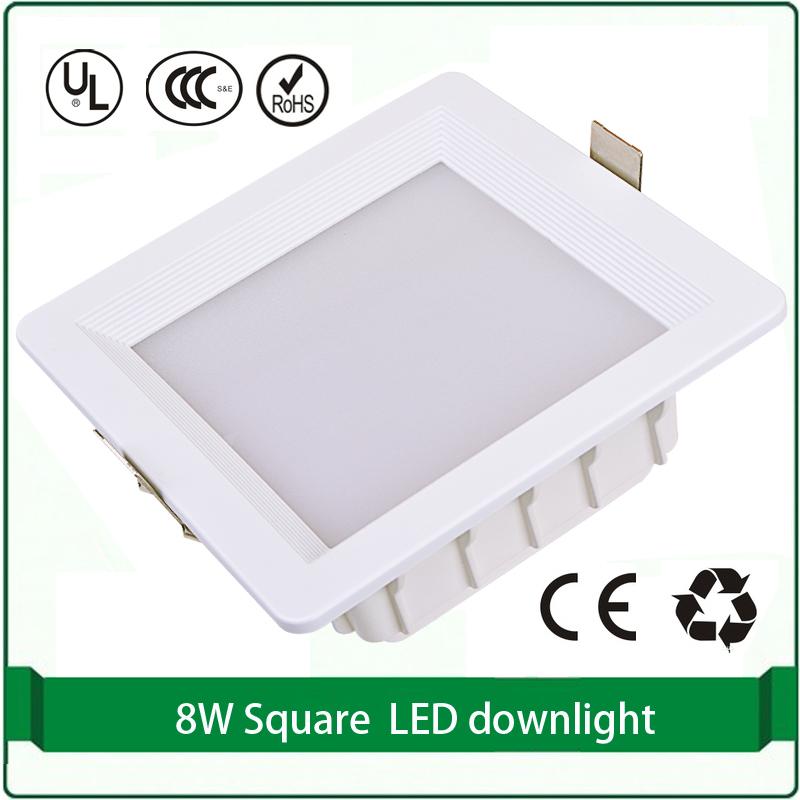 9 Вт Площади ВЕЛА Вниз освещения светодиодные светильники прямоугольные светильники светодиодные