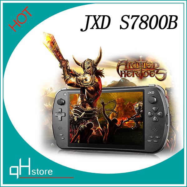 Nuovo jxd s7800b console di gioco 7 pollici tablet pc rk3188t quad core 1,6 GHz 2gb ram 8gb rom video hdmi giocatore del gioco