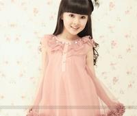 free shipping children's clothing 2014 female child summer dress fashion princess dress child dress one-piece 6181