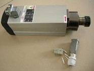 GDZ 2.2Kw air cooling ER25 Spindle motor 4 bearings P4 18000RPM CNC Spindle motor