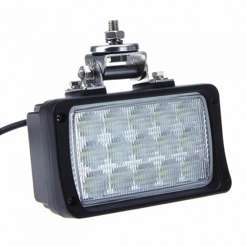 "6"" 45W 10-30V LED Work Light Off Road Lamp Flood Headlight Truck SUV Boat 4x4 Tractor Marine Super Bright Driving fog light(China (Mainland))"