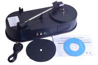 Mini USB Turntable Vinyl LP to MP3 recorder USB digital turntable player Vinyl LP to MP3 Converter