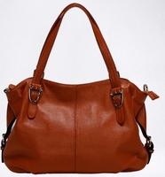 Fashion women's genuine leather handbag first layer of cowhide victoria messenger bag ladies