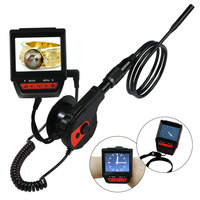 "Free shipping! 88G 2.4"" Watch Endoscope Borescope Inspection Camera DVR 8.5mm Waterproof Night"