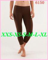 195 Styles Brand fashion lady women Lulu NWT sport Yoga legging Capris female casual womens harem Pants Free Shipping 2--12 BB15