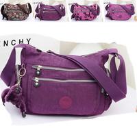 2014 New Fashion Women Brand Nylon One Shoulder Bag Women messenger Bag Women Canvas Bag Women Sport Bags