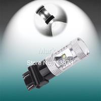 2pcs 3156 3157 P27/7W T25 25W Cree XPE LED Lamp car Fog Head Bulb auto Vehicles Turn Signal Tail Brake Lights car light source