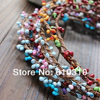 20 Colors 40cm pretty pip berry stem for floral bracelet wreath wedding diy wreath (50pcs-$9/100pcs-$13.88/200pcs)Package