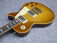Electric Guitar, 59 R9 VOS Reissue, One PC Neck, Lemon Burst, High Quality