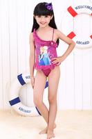 Frozen Swimsuit For Girls Bathing Suits One Piece Frozen Swim Rash Children's Costume Kids Fashion Swimwear Bikinis DA143