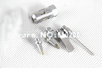 Free shipping Aerated Flame Butane Gas Soldering Iron  solder tip 5/PCS + nozzle  FOR MT-100/HT-1937/HT-1934.....
