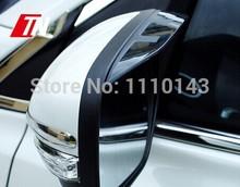 09-14 Renault Koleos special car rear view mirror rain eyebrow rain shield sticker auto parts free shipping(China (Mainland))
