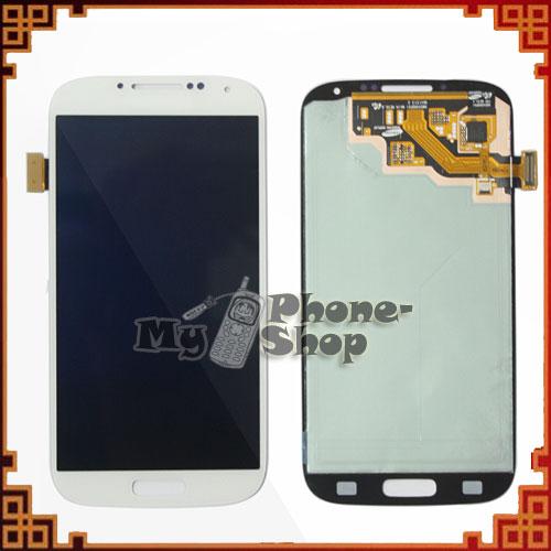 10pcs/lot schermo lcd per samsung per Galaxy s4 i9500 i337 i9505 touch screen digitizer montaggio bianco spedizione gratis da dhl/EMS