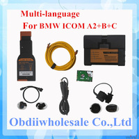 promotional for bmw icom a2 b c diagnostic programming tool with newest software 2014.07 for bmw icom a2 dhl free