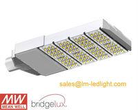 120W garden light LED daylight white 4500K aluminum 85-265V MeanWell driver Bridgelux 45mil LM-80 street led light free shipping