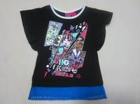 Retail monster high girl girls short sleeve t-shirt 2 colors