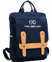 Free Shipping exo New 2014 Canvas Women Casual Kids School Backpacks men sports travel backpack bag