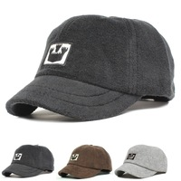 Autumn and winter short brim baseball cap male women's lovers cap towel cotton comfortable casual cap outdoor cap