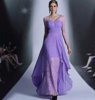 Dolly 2013 double-shoulder female evening dress formal dress long sleeve length fashion evening dress 30879