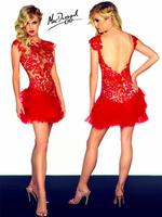 2014 perspectivity racerback sexy elegant vintage design short dress evening dress married birthday