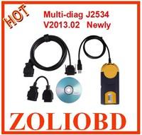 2014 newest come v2013.02 Professional MultiDi@g Multi-Di@g access J2534 OBD2 multidiag Multi Diag Multi-Diag access j2534