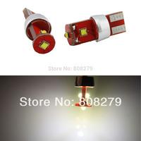 2pcs/Pair/Lot T10 194/168 W5W 9W 3 CREE LED Car Backup Reverse Side Parking Light Bulbs 12V