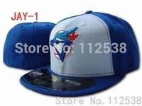 Wholesale Toronto blue jays fitted hats baseball caps 12pcs/lot  free shipping