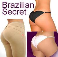 Brazilian Secret Women's Callipyge panties Fake Ass False Butt Sexy Briefs Underpant Non-removable Padded Pants 2 Colors