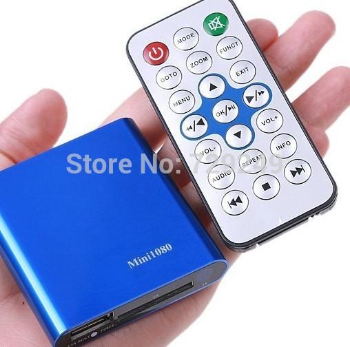 Free shipping Mini 1080P Full HD HDMI TV Box,SD/MMC Card USB Media Player MKV/RM/RMVB player box original newest(China (Mainland))