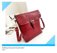 New 2014 fashion women's handbag leather bag for women charm oil Glossy leather shoulder bag 31*25*11 cm