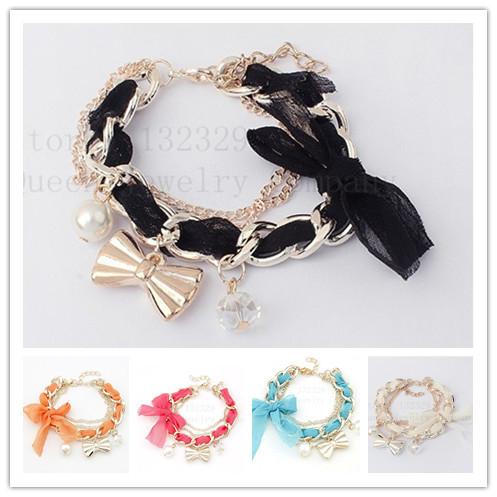 Farfalla arco perla bracciali e braccialetti consegna gratuitamente