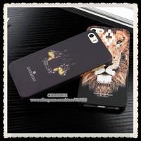 drop shipping for iphone 5 5s brand designer marcelo burlon animal print tiger wolf cartoon hard back case cover retail box